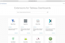 Tableau:全新扩展 API助开发者实现更多功能