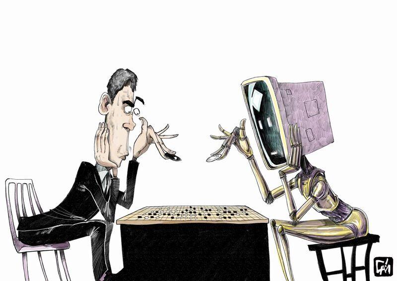 AlphaGo大胜李世石