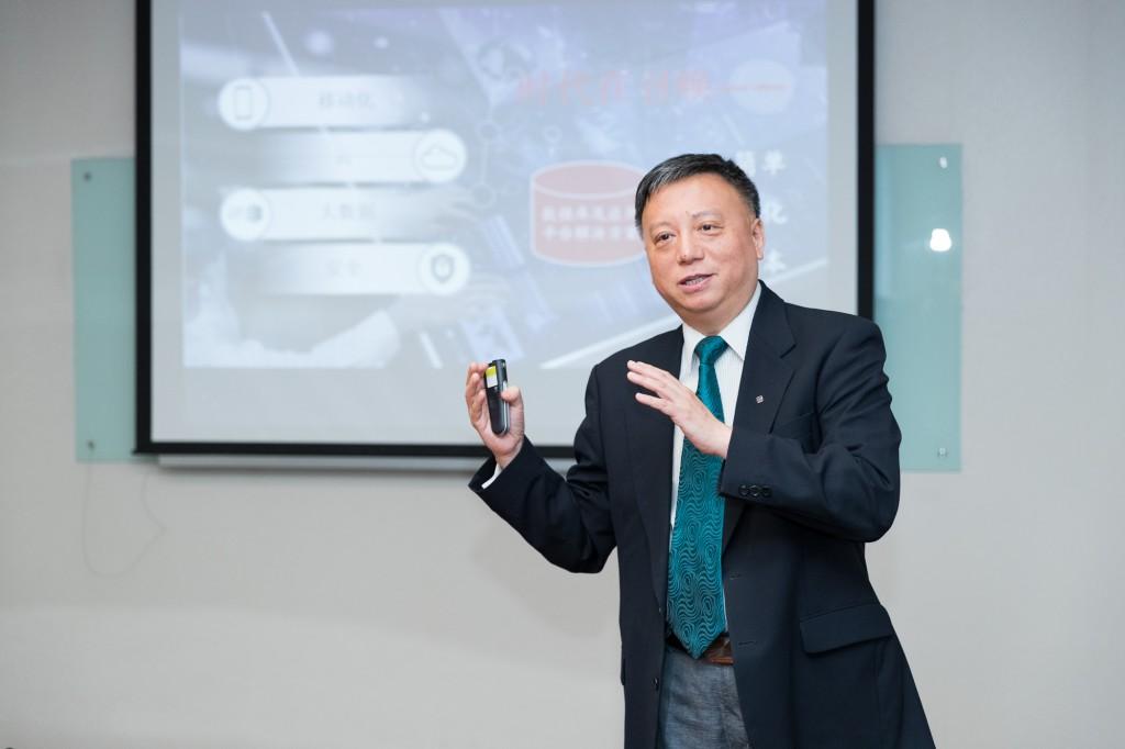 甲骨文公司中国区系统事业部销售咨询部高级总监 潘榆奇