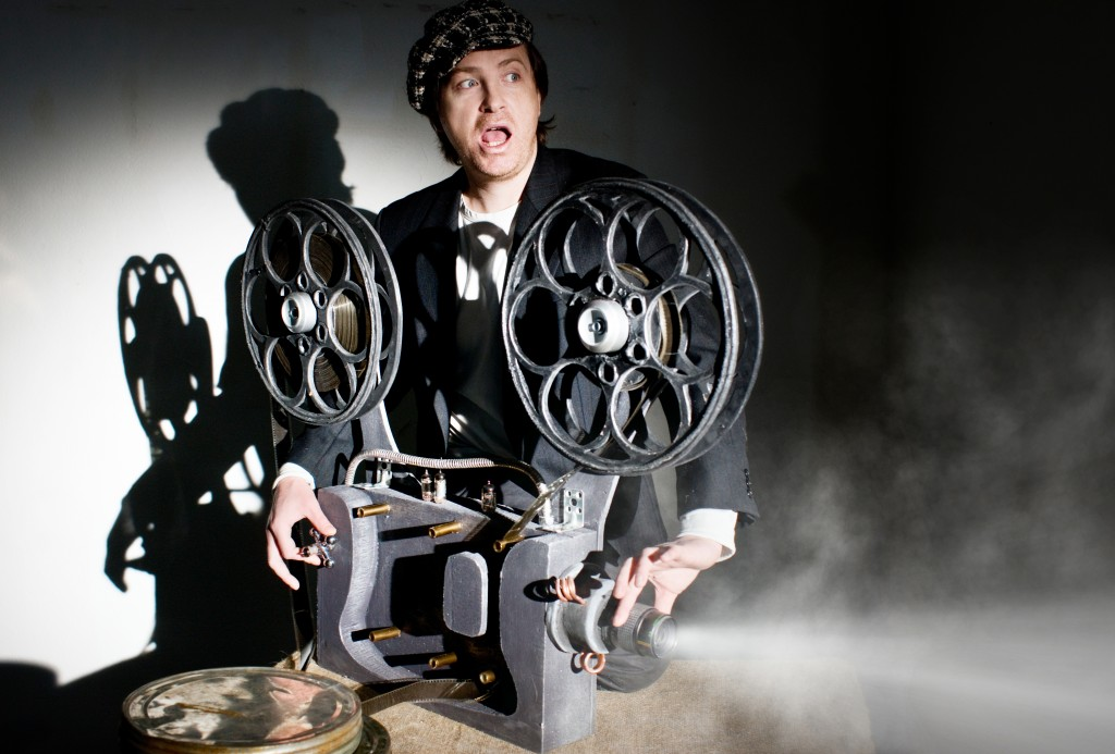 Serious projectionist shows new film