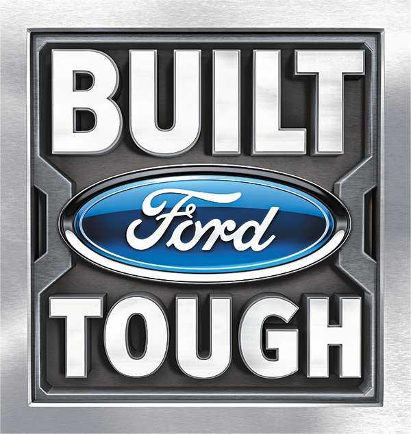 福特将Built Ford Tough引入中国